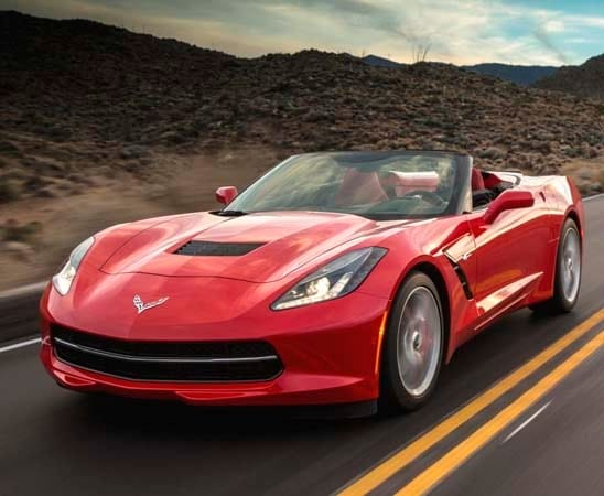 2015 chevrolet corvette stingray to get new 8 speed automatic - 2015 Corvette Stingray Convertible Blue