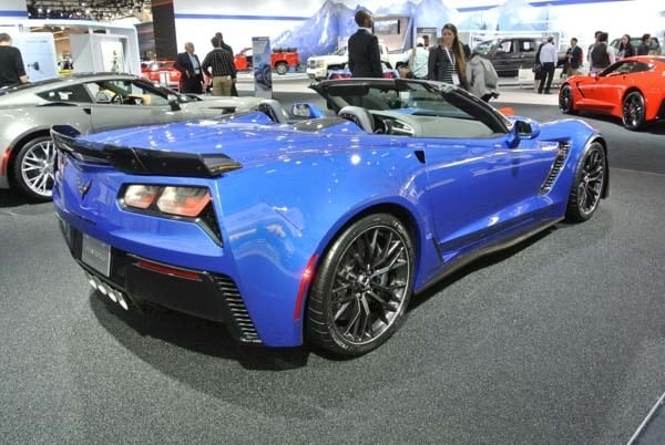 2015 Chevrolet Corvette Z06 Convertible:  New York Debut Boasts 625 Horsepower 4