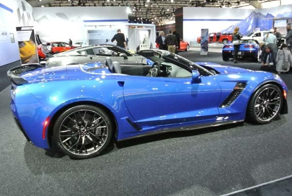 2015 Chevrolet Corvette Z06 Convertible:  New York Debut Boasts 625 Horsepower 5