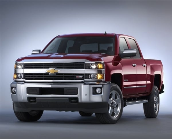 2015 chevrolet silverado 2500 hd 3500 hd pickups revealed kelley blue book. Black Bedroom Furniture Sets. Home Design Ideas