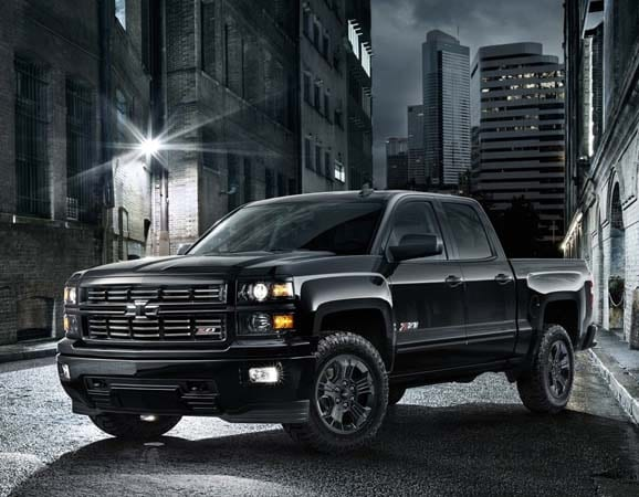 2015 Chevrolet Silverado Midnight Special Edition Bows Kelley Blue