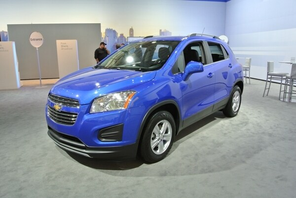 2015 Chevrolet Trax Arrives Stateside Kelley Blue Book