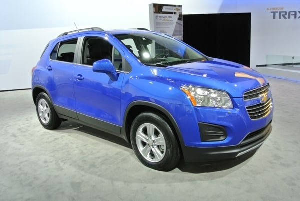 2015 Chevrolet Trax First Review: Utility for the Masses ...