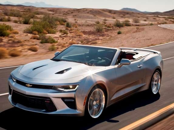 2016 Chevrolet Camaro Convertible unveiled - Kelley Blue Book