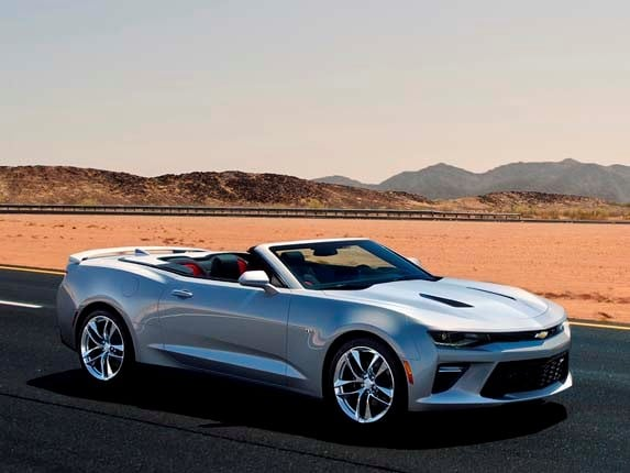 Camaro Insurance Cost >> 2016 Chevrolet Camaro Convertible unveiled - Kelley Blue Book