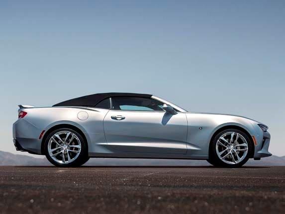 1 7 - Camaro 2015 Convertible Blue