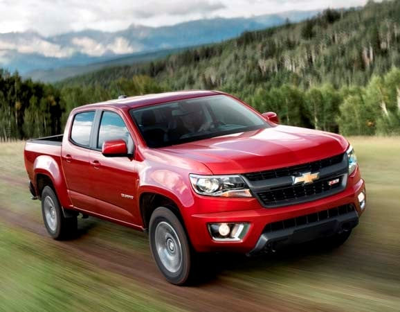 2015 Chevy Colorado Gmc Canyon Best In Class V6 Mpg Kelley Blue
