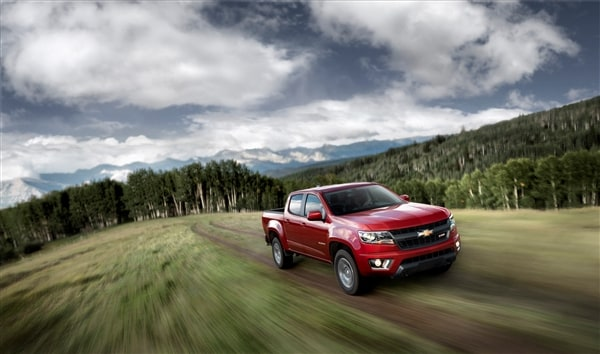 Chevrolet Reinvents Colorado Midsize Pickup Truck For 2015