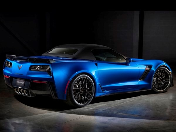 2015 Chevrolet Corvette Z06 Convertible:  New York Debut Boasts 625 Horsepower 16