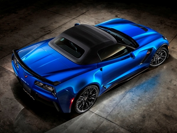 2015 Chevrolet Corvette Z06 Convertible:  New York Debut Boasts 625 Horsepower 18