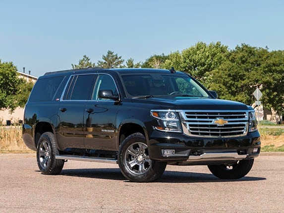 2015 Chevrolet Suburban vs. Yellowstone National Park - Kelley Blue ...