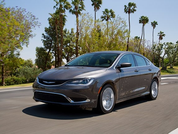 Midsize Sedan Comparison 2017 Chrysler 200