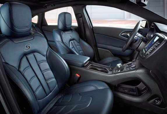 2015 Chrysler 200s And 200c Add New Interior Colors