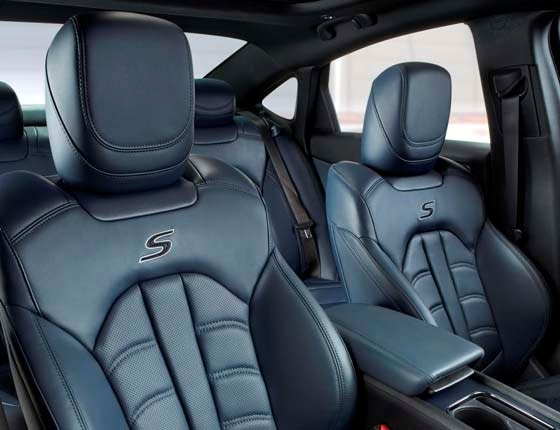 Chrysler S Blue Interior Front on 2015 chrysler 200