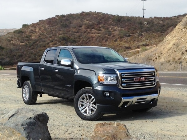 2015 Chevrolet Colorado and GMC Canyon First Review - Kelley Blue Book