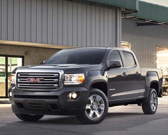 2015 Chevy Colorado/GMC Canyon tops in fuel economy 5