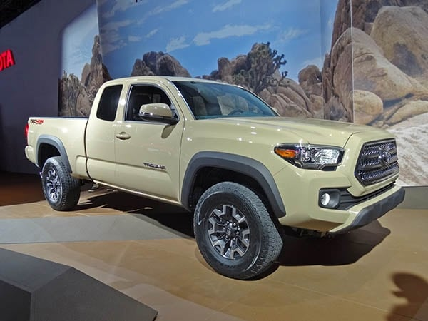 Blue Toyota Tacoma >> 2015 North American International Auto Show: Detroit ...