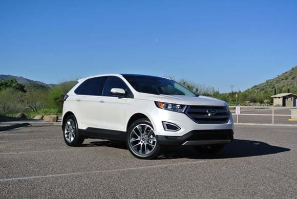 2015 ford edge first review kelley blue book. Black Bedroom Furniture Sets. Home Design Ideas