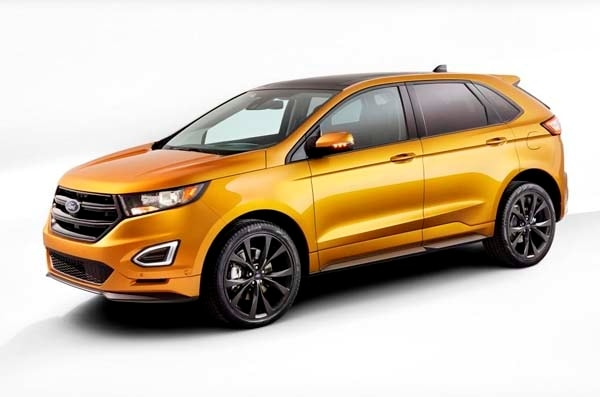 2015 Ford Edge unveiled -- upping its game on every level 5