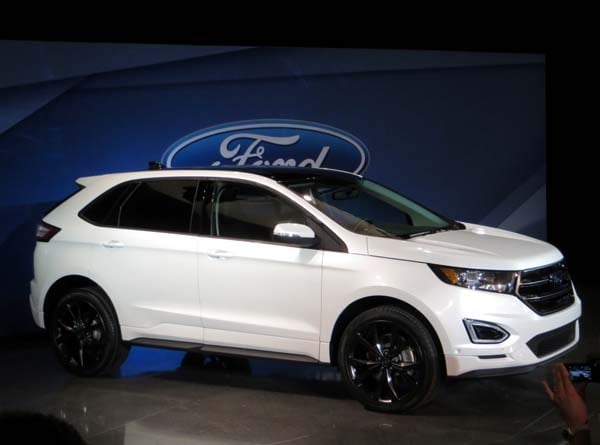 2014 Ford Edge Se >> 2015 Ford Edge unveiled -- upping its game on every level ...