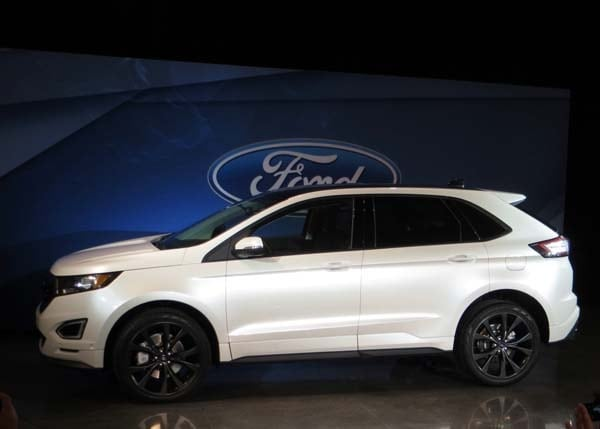 2015 Ford Edge unveiled -- upping its game on every level 2