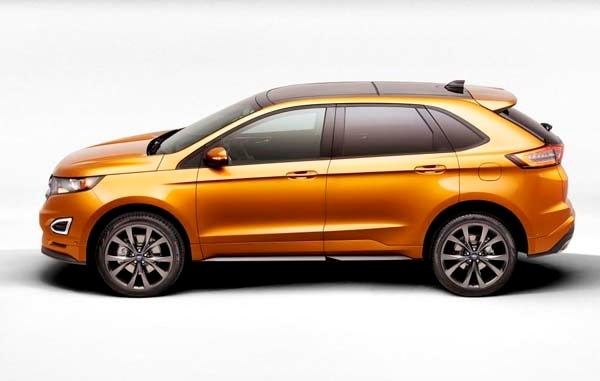 2015 Ford Edge unveiled -- upping its game on every level 6