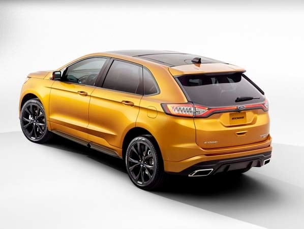 2015 Ford Edge unveiled -- upping its game on every level 7