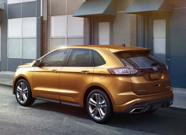 2015 Ford Edge unveiled -- upping its game on every level 8