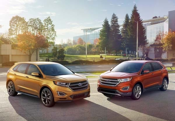 2015 Ford Edge unveiled -- upping its game on every level 9