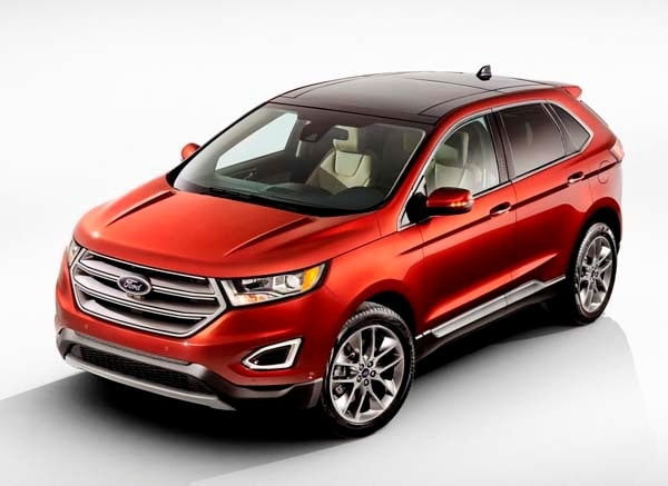 2015 Ford Edge unveiled -- upping its game on every level 11