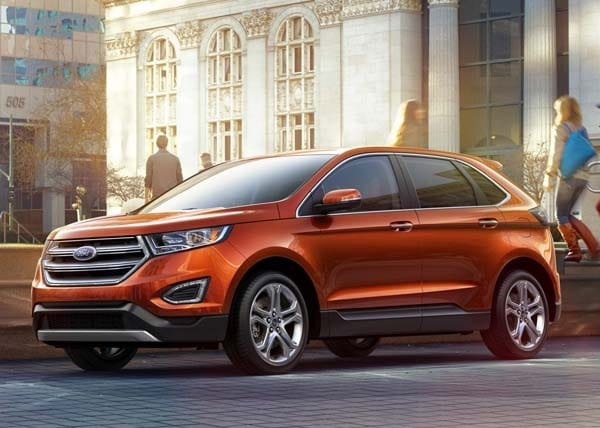 2015 Ford Edge unveiled -- upping its game on every level 12