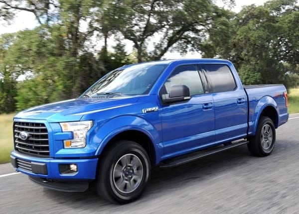 2015 Ford F-150 earns EPA rating of 26 mpg highway ...