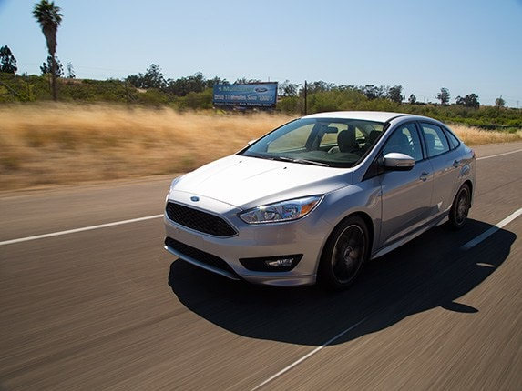 Compact Car Comparison: 2015 Ford Focus - Kelley Blue Book