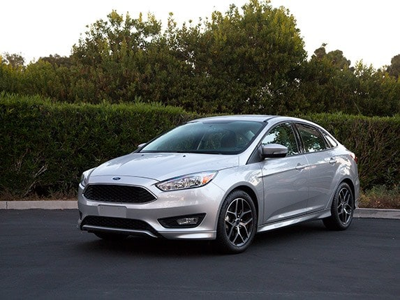 compact car comparison: 2015 ford focus | kelley blue book