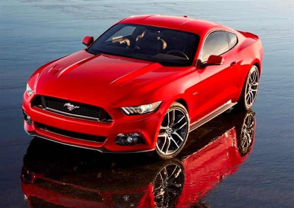 2015 ford mustang revealed new generation has a global vision - Ford Mustang 2015 Blue