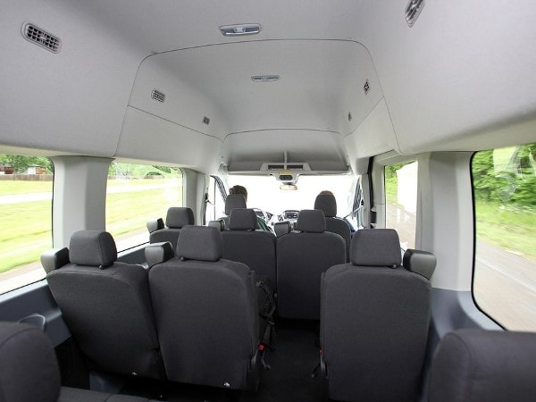 2015 Ford Transit First Review: Stepping out of the E-Series' shadow 20