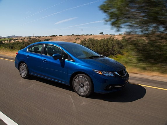 compact car comparison  honda civic kelley blue book