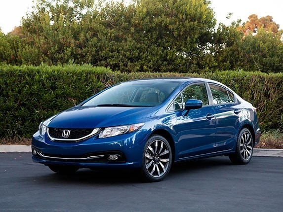 Compact Car Comparison 2015 Honda Civic