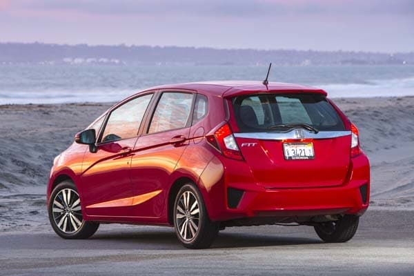 Luxury 2015 Honda Fit EXL First Review One Size Fits All  Kelley Blue Book