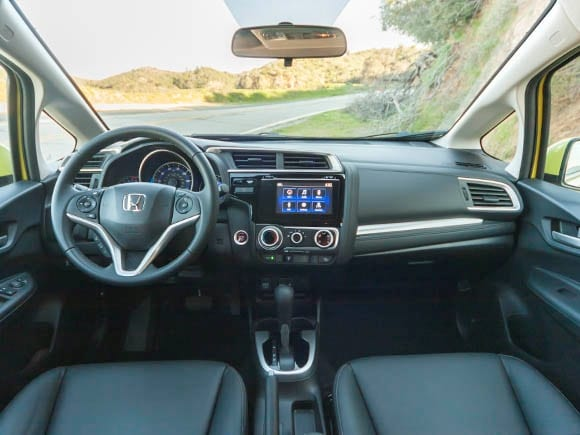 2015 honda fit long term introduction kelley blue book. Black Bedroom Furniture Sets. Home Design Ideas