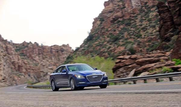 2015 Hyundai Genesis First Review: The Cool Lux Alternative 6