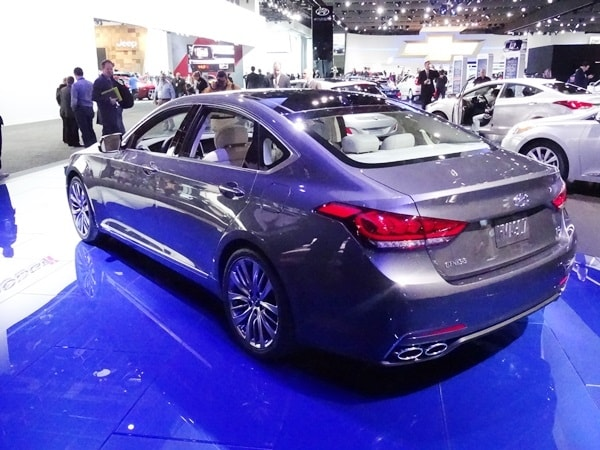 ... Hyundai Genesis Sedan Will Be Unveiled At The 2014 | Apps Directories