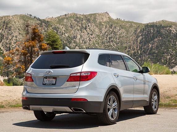 Midsize SUV Comparison: 2015 Hyundai Santa Fe - Kelley ...