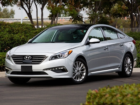 15 Best Family Cars: 2015 Hyundai Sonata | Kelley Blue Book