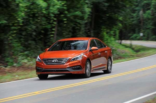 2015 Hyundai Sonata First Review Going In A New Direction