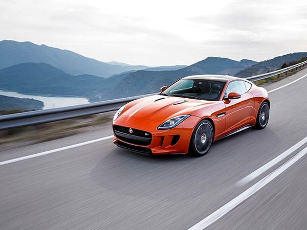 2015 Jaguar F-Type Coupe First Review 1