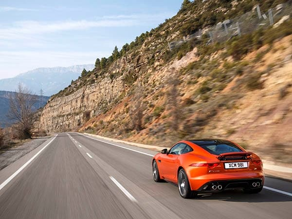 2015 Jaguar F-Type Coupe First Review 2