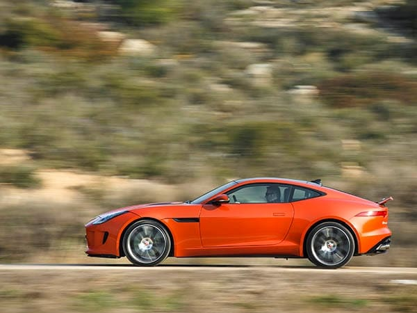 2015 Jaguar F-Type Coupe First Review 3