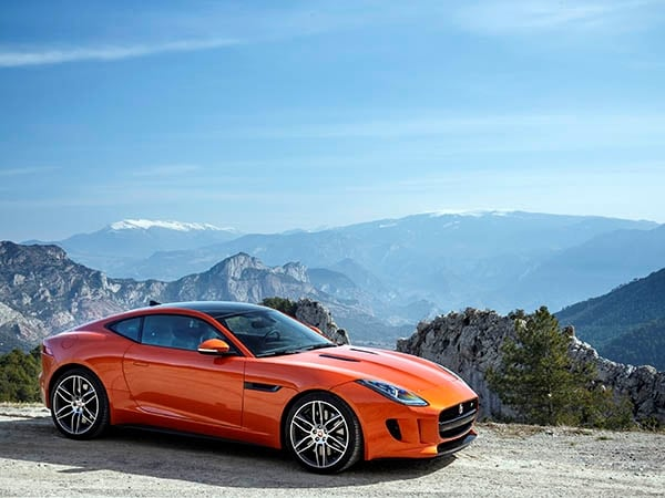 2015 Jaguar F Type Coupe First Review Kelley Blue Book