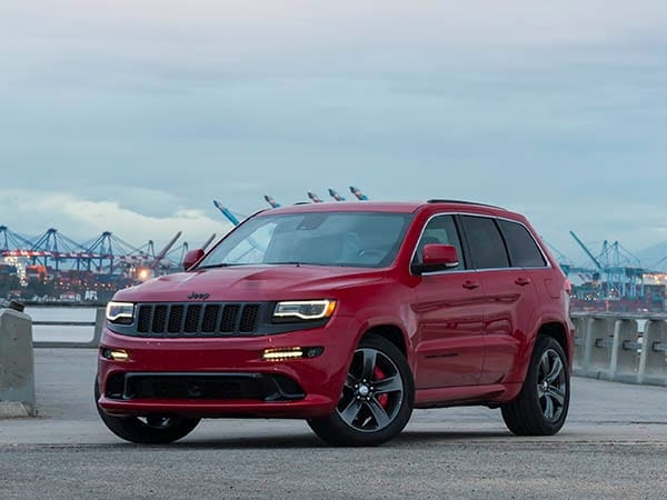2015 Jeep Grand Cherokee Srt Quick Take Seeing Red